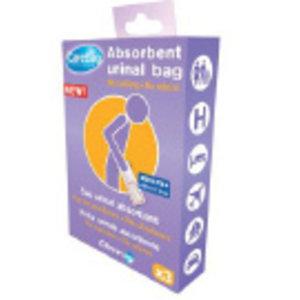CareBag Wegwerp urinaal 3 stuks verpakking (reisverpakking)