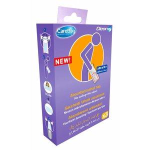 CareBag Wegwerp urinaal 3 stuks verpakking