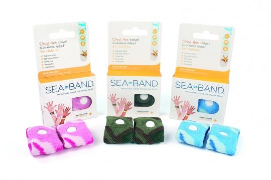 SeaBand polsbandjes voor kids