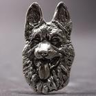 Silberner Anhänger der Deutscher Schäferhund