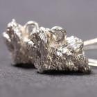 Silberne Ohrringe der Malteser