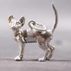 Silberner Anhänger der Sphynx-Katze