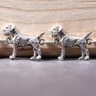 Silbernes Armband der Border Terrier