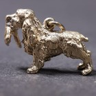 Gold plated pendant of the English Cocker Spaniel