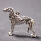 Silver pendant of the  Deerhound