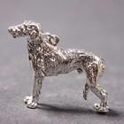 Zilveren hanger Deerhound