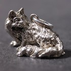 Silver pendant of the Angora Cat