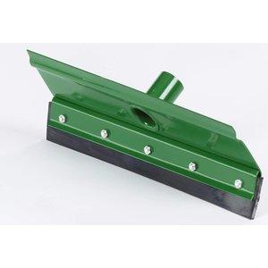 Streuding Mestschuiver 35 cm recht met rubber strip