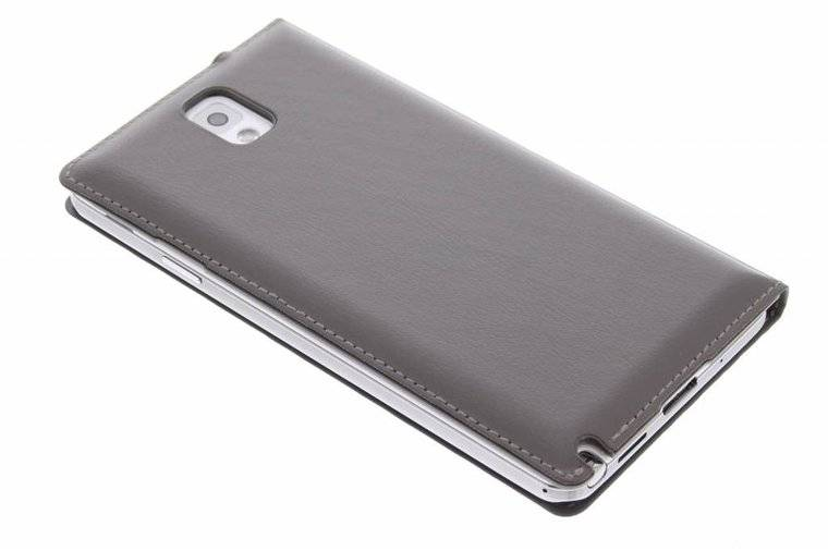 Samsung galaxy note 3 galaxy note 3 s view cover bruin taupe kleur telefoonhoesjes paradise - Kleur taupe ...