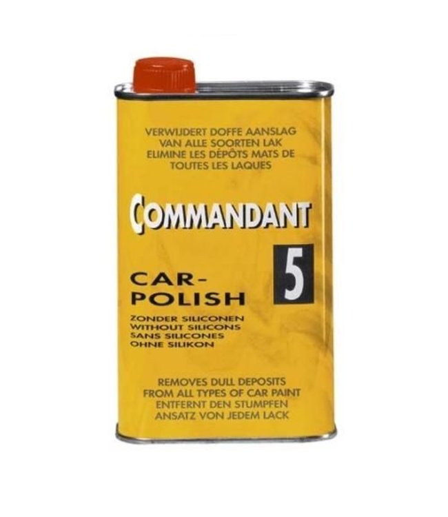 Commandant Car polish nr. 5