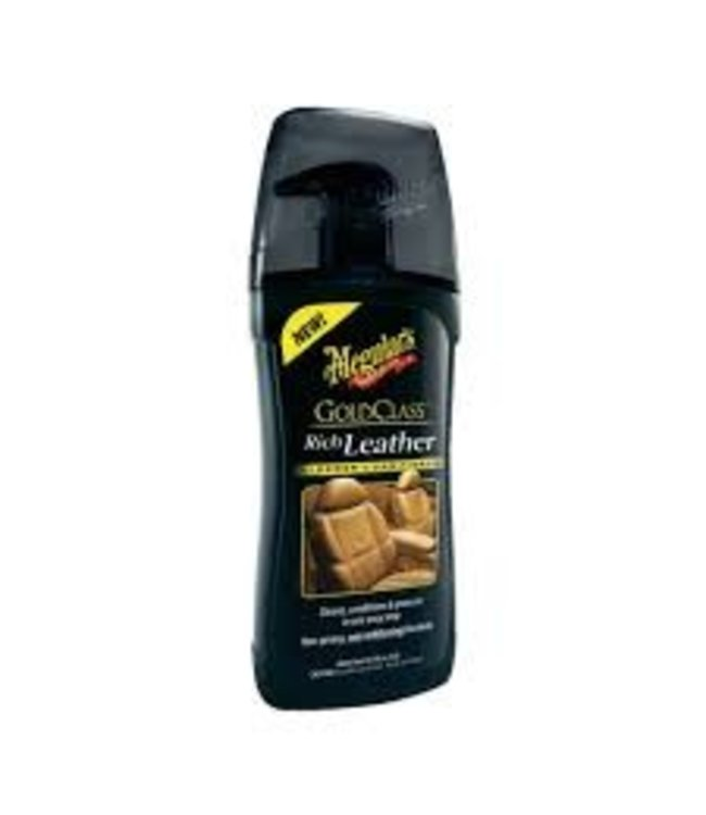 Meguiars Gold Class Rich Leather Cleaner & Conditioner