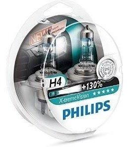 Philips H4 Xtreme Vision Set