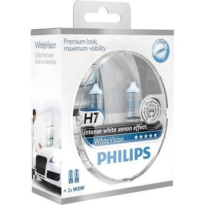 Philips H7 Whitevision Set
