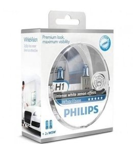 Philips H1 Whitevision Set
