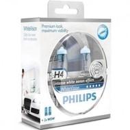 Philips H4 Whitevision Set