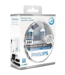 Philips H4 Whitevision Set