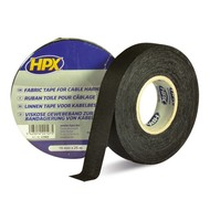 HPX Linnen tape 19 mm zwart