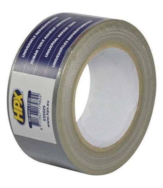HPX Duct Tape Zilver 25meter
