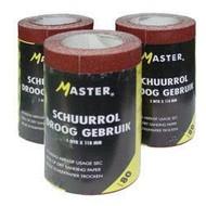 Master Schuurpapier P60 5m rol 118mm