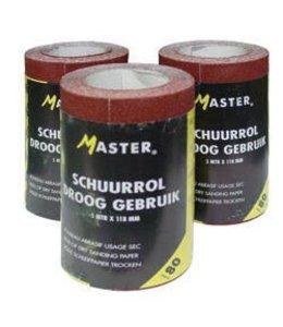 Master Schuurpapier P100 5m rol 118mm