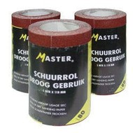 Master Schuurpapier P120 5m rol 118mm