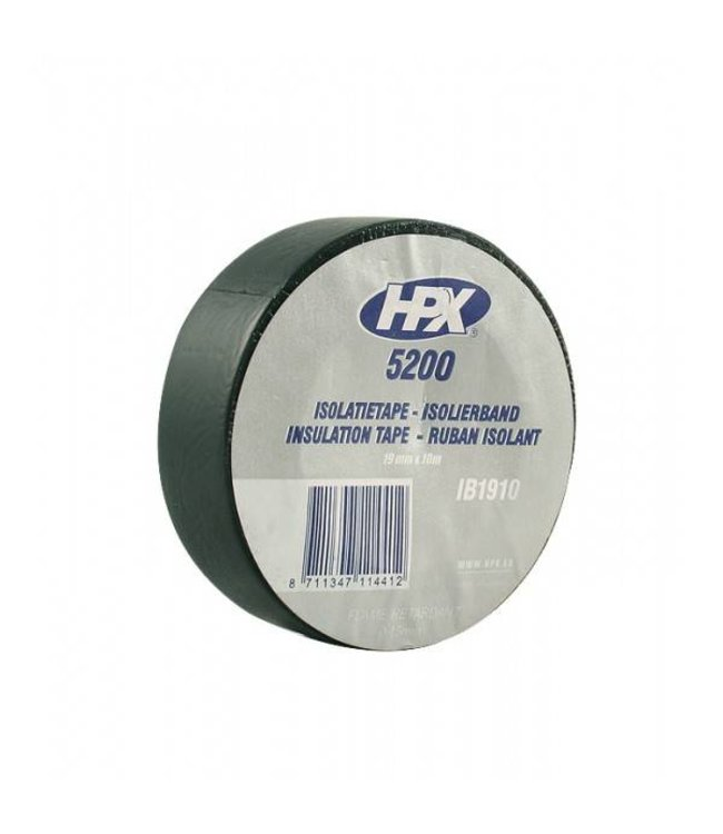 HPX Isolatietape 19mm Zwart 10m