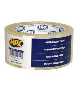 HPX Verpakkingstape Tramsparant 50mm x 66m