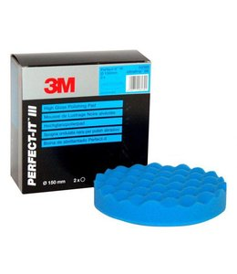 3M Perfect-it-III-Ultrafina-Wafelpad 1st Blauw