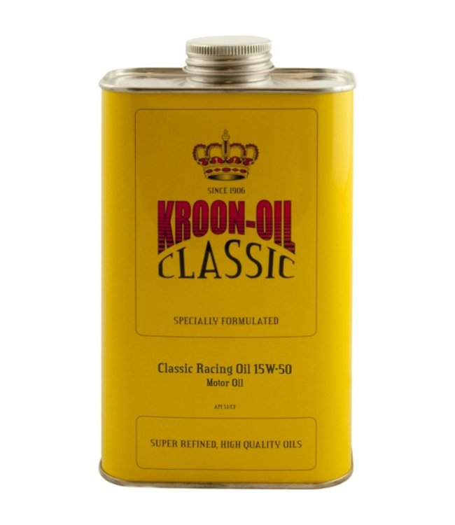 Kroon Oil Classic Racing Oil 15W-50