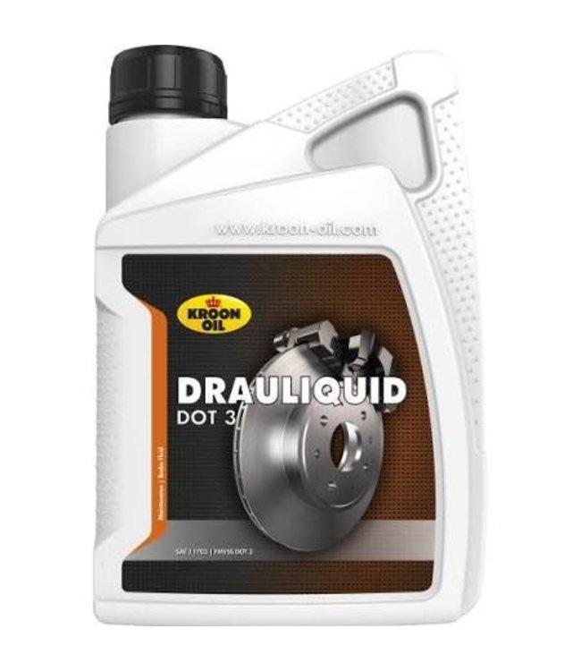 Kroon Oil Remvloeistof Dot 3 Drauliquid 1L