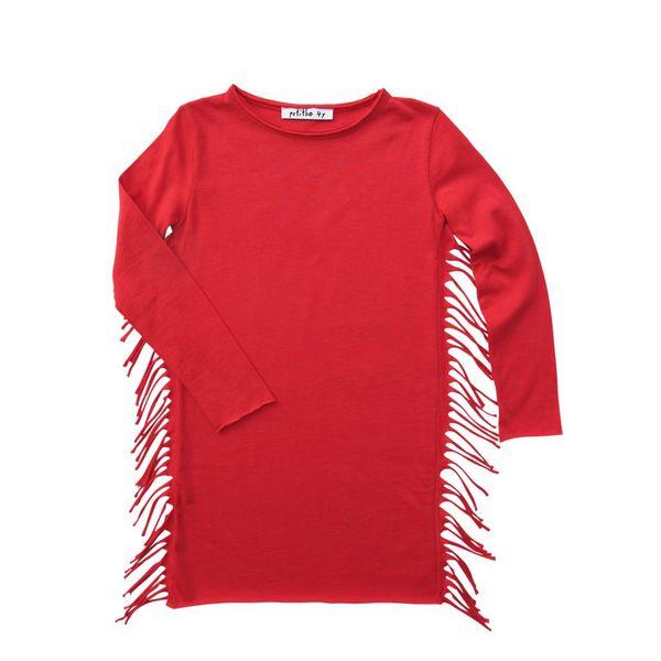 Petitbo Bibi Dress - Red