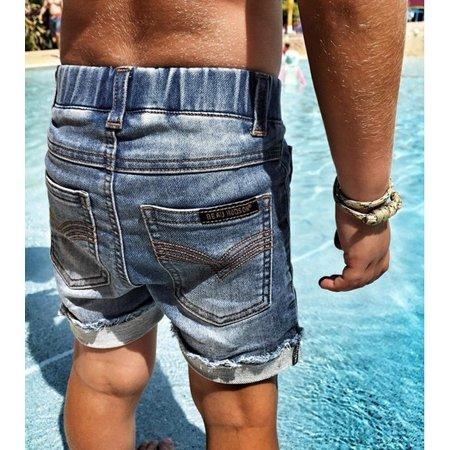 Beau Hudson Beau Hudson Blue Denim Jeg Shorts