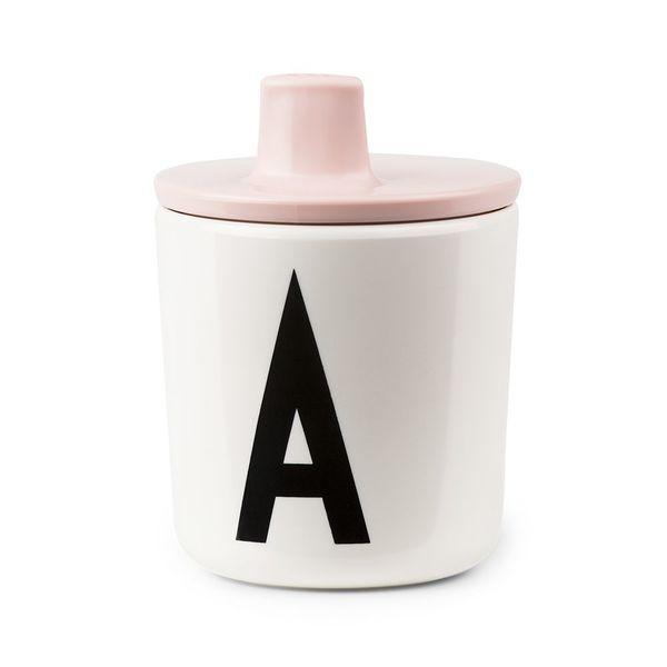 Design Letters Drink Lid - Pink