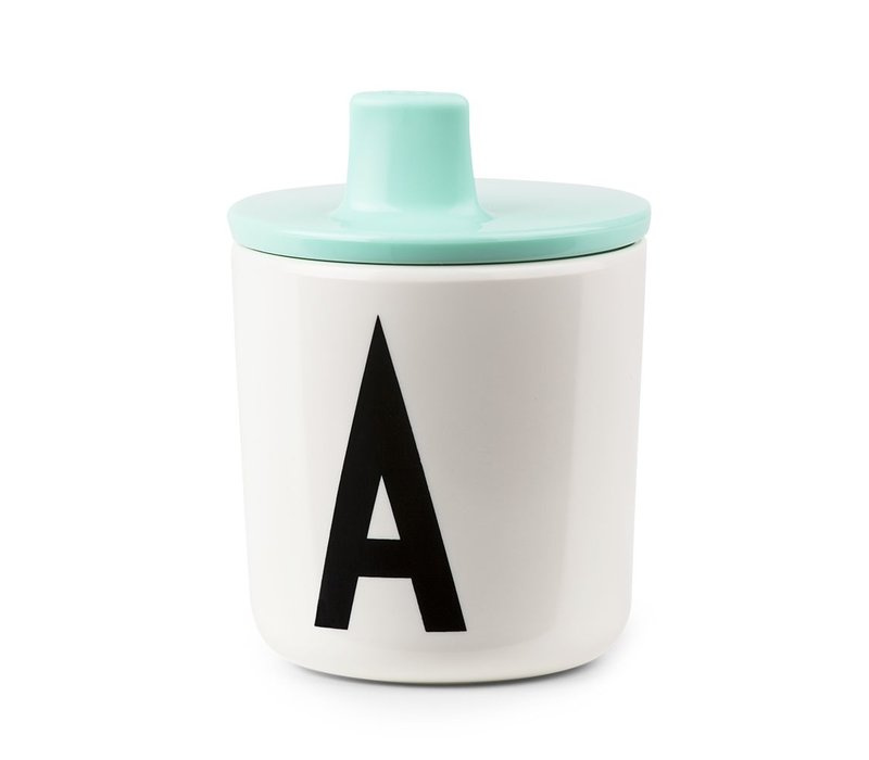 Design Letters Drink Lid - Mint