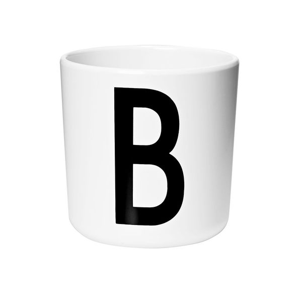 Design Letters Personal Melamine Cup A - Z