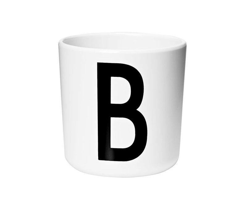 Design Letters Personal Melamine Cup A - Z