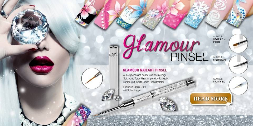 Glamour Pinsel