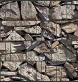 Gipea Design Band: Zichtbescherming Tuin, nu schutting zicht dicht met Stone Provence !