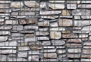 Gipea Design Band: Zichtbescherming Tuin, nu schutting zicht dicht met stone Marmomouer