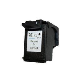 HP 901 XL (CC654AE) Inktcartridge Zwart (Huismerk)