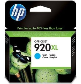 HP 920XL (CD972AE) Inktcartridge Cyaan (Origineel)