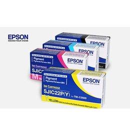 Epson SJIC22P(K) Inktcartridge Zwart (Origineel)