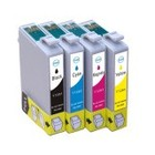 Epson T1281 Set 4 Cartridges XL voor Epson (Huismerk)