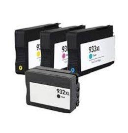 HP 932XL / 933XL 4 Pack (Huismerk)