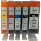 Canon CLI-526 set 5 Cartridges voor Canon (Huismerk)
