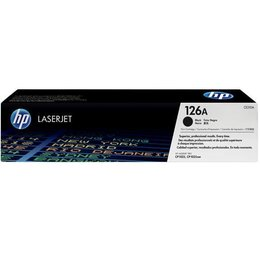 HP 126A (CE310A) Toner Zwart (Origineel)