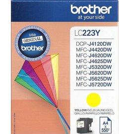 Brother LC-223 Inktcartridge Geel (Origineel)