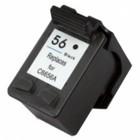 HP HP 56 (C6656AE) Inktcartridge Zwart (Huismerk)