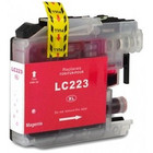 Brother LC-223 Inktcartridge Magenta (Huismerk)