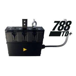 LanBox® 788TD+ theatre quad dimmer pack